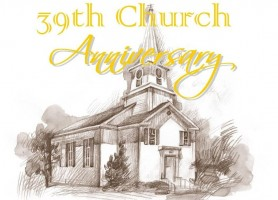39th Church Anniversary